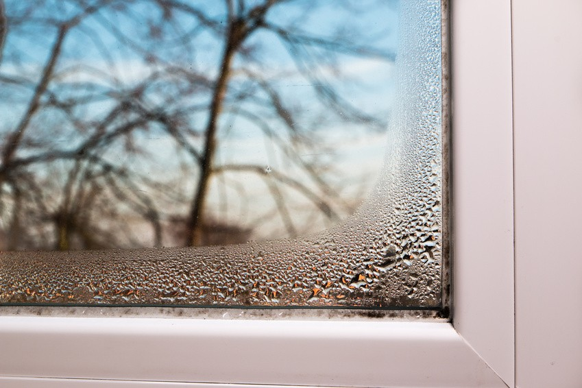 Where does the condensation inside my home come from? How do I get rid of it ?